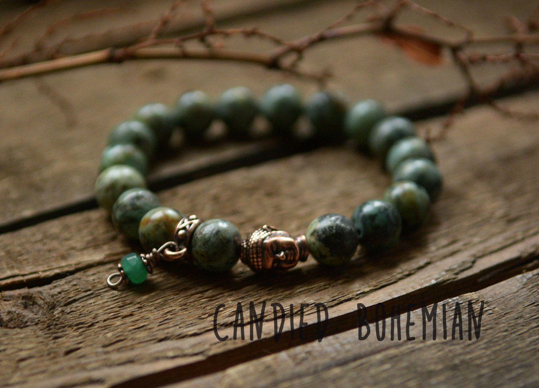 STRESS RELIEF & PROTECTION- Buddha Bracelet, Beaded Bracelet, Yoga Jewelry, Tibetan Jewelry, Chakra Bracelet, Mens Jewelry, Mens Bracelets by CandiedBohemian on Etsy