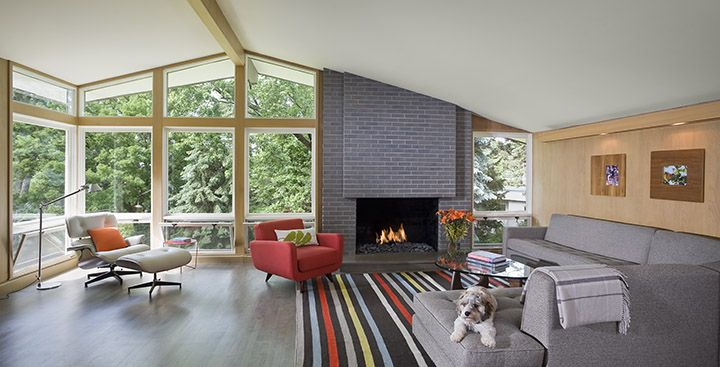 Thoughtful Remodel Of Historic Mid Century Rambler Home Exterior