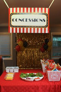 5m Creations Movie Night 13th Birthday Party Movie Birthday Party Movie Night Birthday Party Movie Themed Party