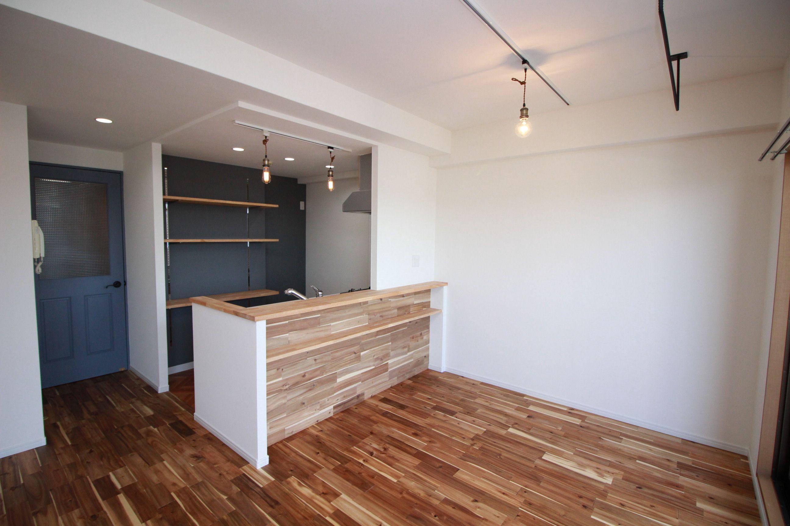 ダイニングキッチンです オープンキッチンで開放感のあるキッチンに