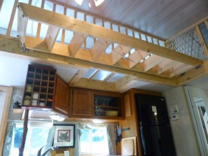 tiny house loft ladder. This Kirkwood Tiny House Is Actually A Highly Modified 2004 Loft Ladder,tiny Ladder Kits,tiny Home Ladders
