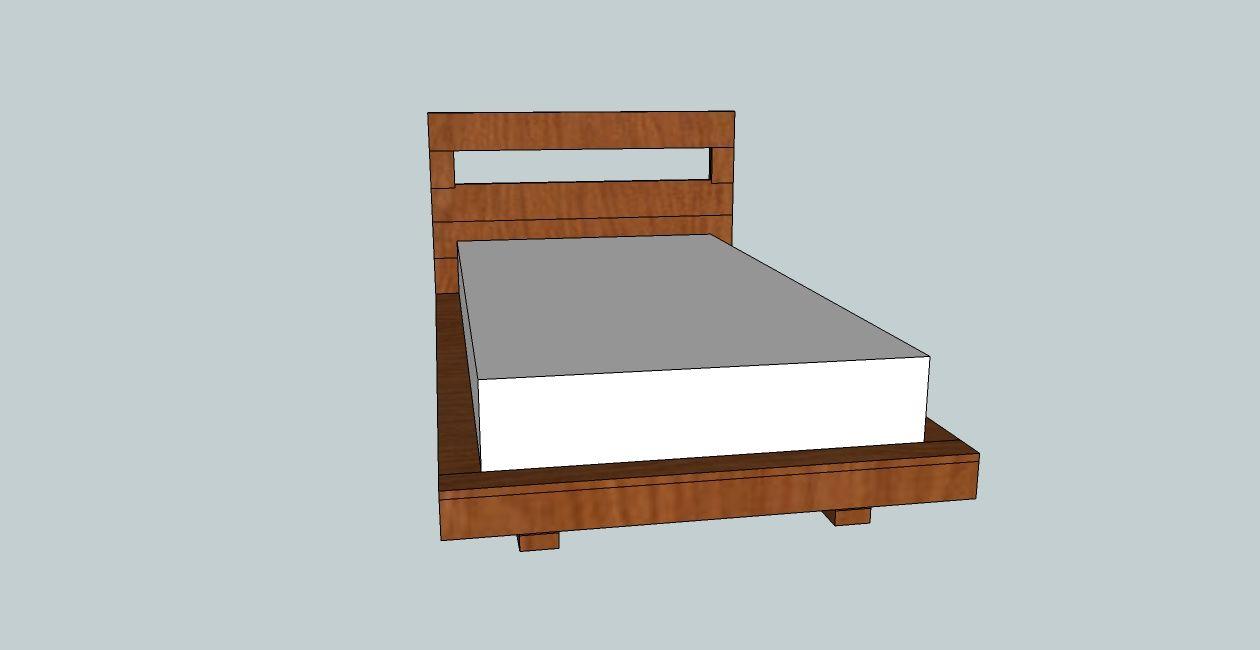 Twin Size Floating Platform Bed Plan Bed Frame Design Twin Platform Bed Frame Floating Platform Bed