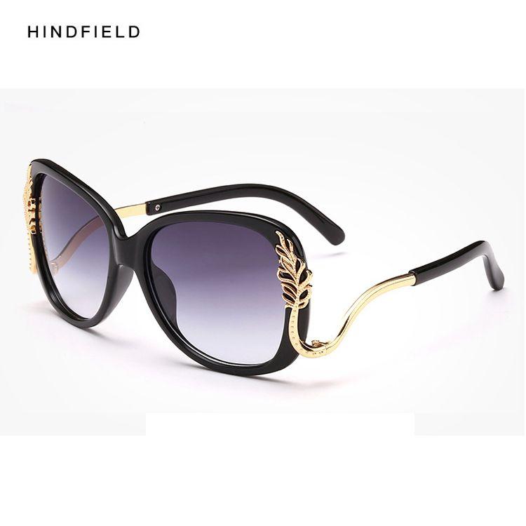 f261e936fec 2017 Cat Eye Polarized Sunglasses Women Brand Designer Shades Rhinestones Eyewear  Female Retro Sun Glasses