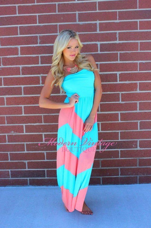 Pin By Kayla Hoeppner On Babyyyy Stuff Gender Reveal Dress Baby Gender Reveal Party Chevron Dress Maxi