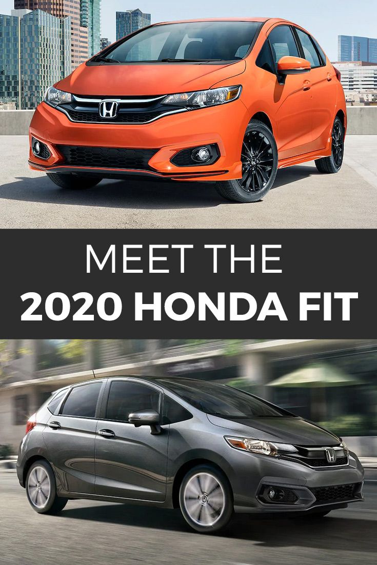 I spy with my little eye something small, fuel efficient, and reasonably priced. What is it? The Honda Fit!   #Honda #HondaFit #Hatchback #SmallCars #FuelEfficiency