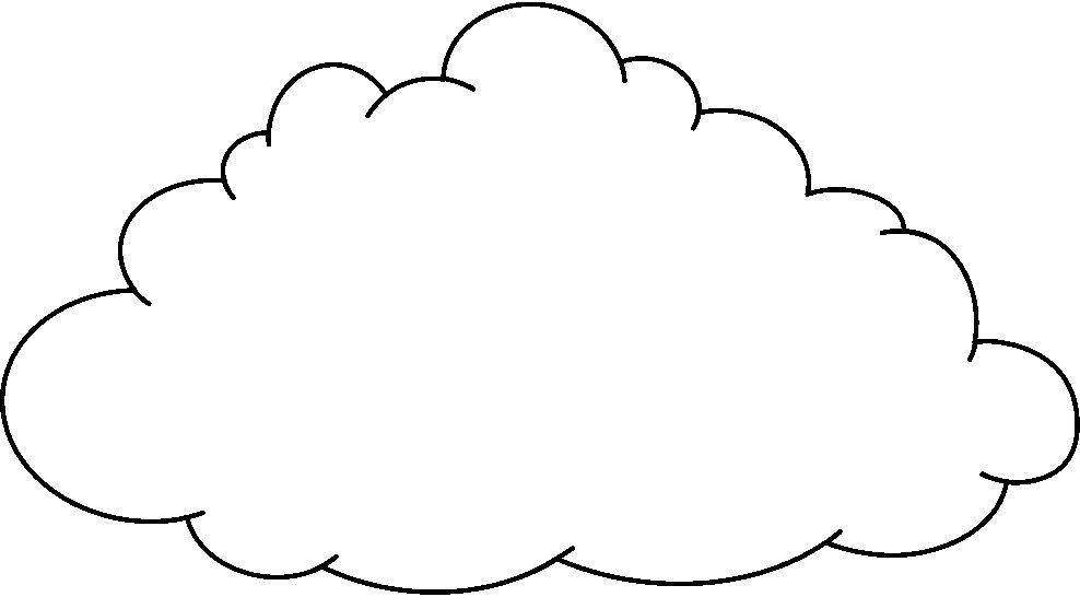 Resultado De Imagen Para Imagenes De Nubes Para Colorear Dibujos
