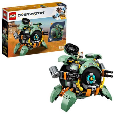 Lego Overwatch Wrecking Ball 75976 Building Kit (227 Pieces)