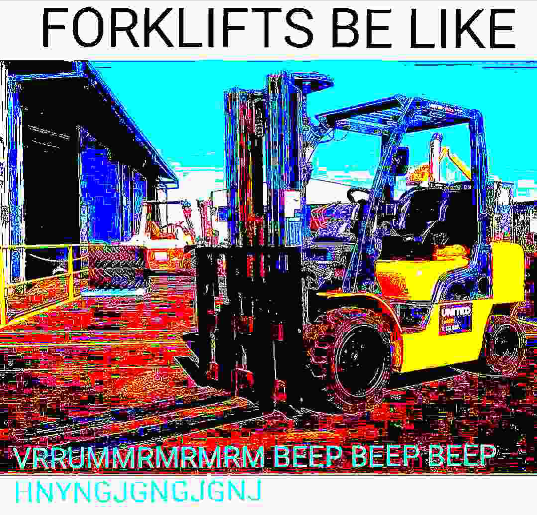 YALL KNOW DIS FR Forklift, Funny memes, Memes