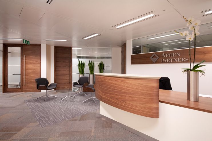 financial office designs | Arden Partners London Office | Office Design | Maris Interiors |