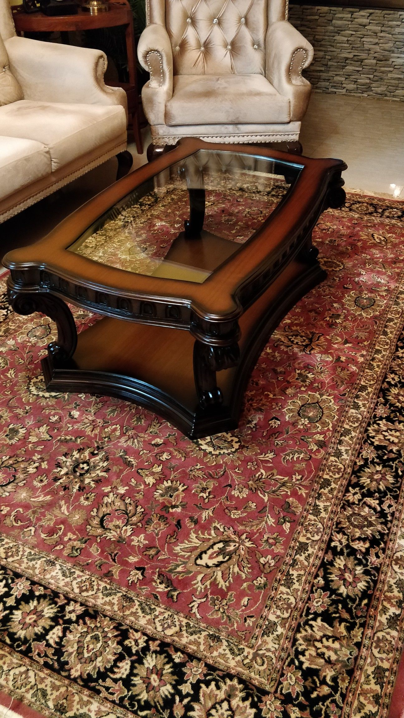 Pin By Gaurav Hegde On Victorian Centre Table Coffee Table Wood Center Table Decor