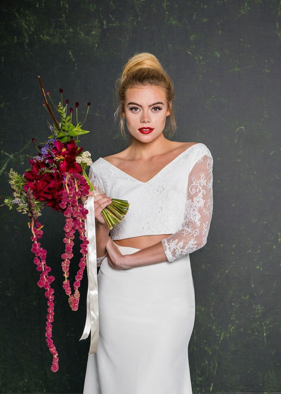 House of brides wedding dresses  Stunning alternative wedding flowers and outfit Shop House of