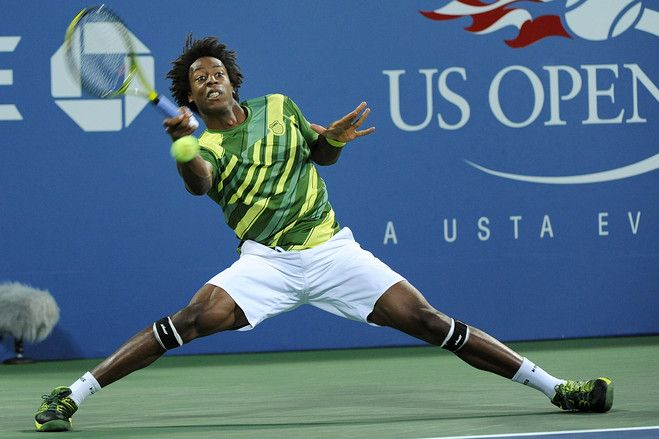 Gael Monfils (France) - 2011 U.S. Open Men's Singles First Round