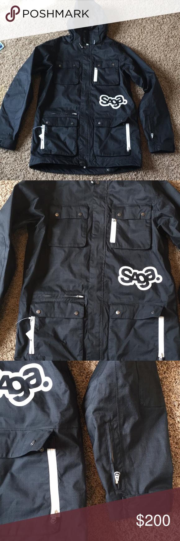 Ski Jacket Saga Anomie 2 Layer Ski Jacket Ski Jacket Jackets Clothes Design [ 1740 x 580 Pixel ]