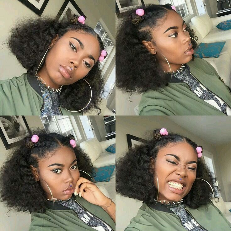 Pinterest Baddiebecky21 Curly Hair Styles Natural