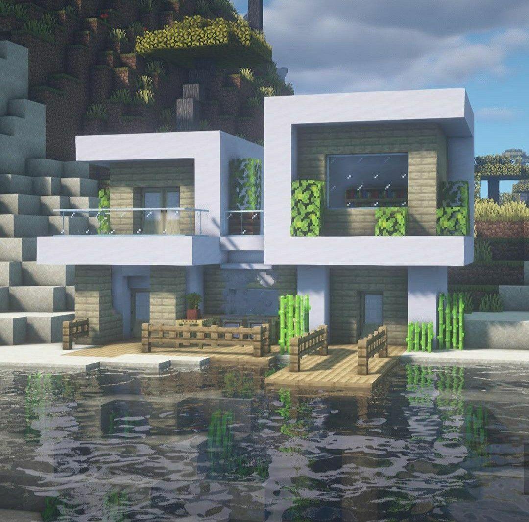 Pin Em Casas Do Minecraft