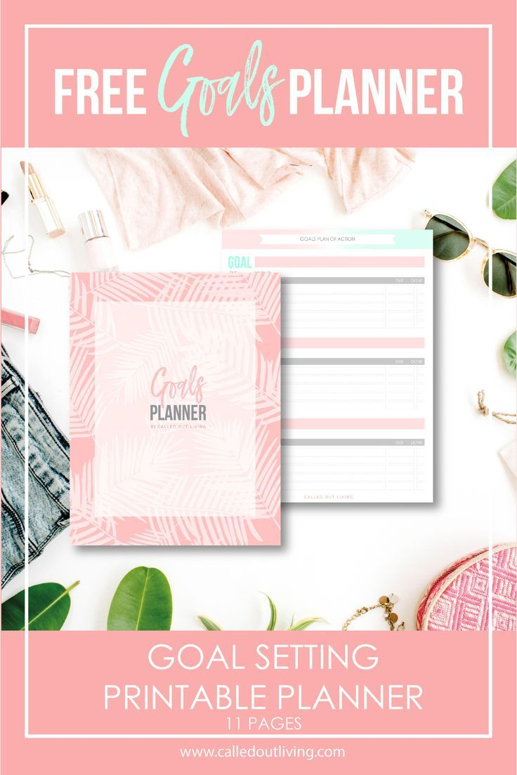 Goal Planner free printable Goals planner, Printable
