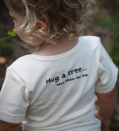 Spread awareness with an eco-friendly toddler tee