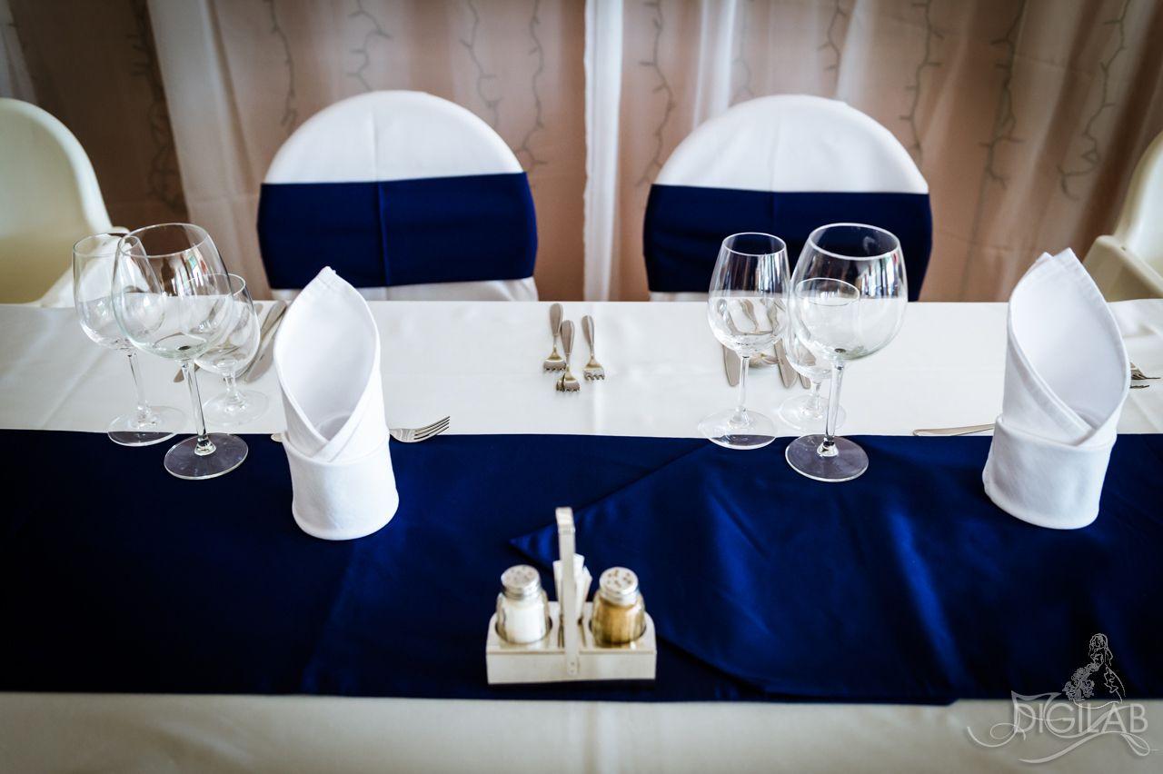 074775357d Asztal dekoráció, kék-fehér #eskuvo, #dekor, #kek | Esküvői ...