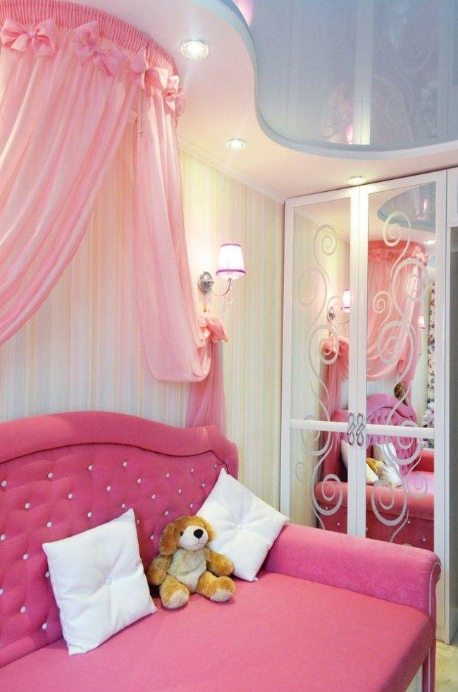 Натяжные потолки в детской комнате (63 фото): виды и ...