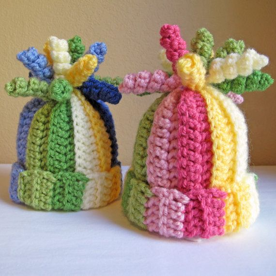 CROCHET PATTERN - Tutti Frutti - crochet hat pattern colorful ...