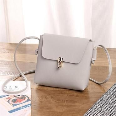 Handbag Bag Female Solid Bags for Girls Hasp Women Fashion Cover Crossbody  Bagintothea 0d5368fc981f1