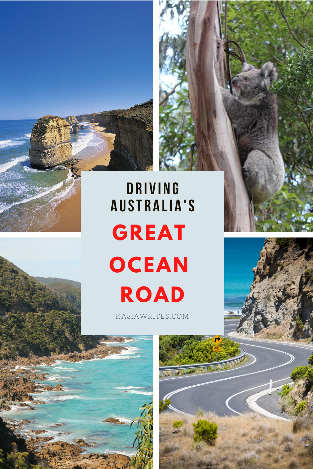 Along The Great Ocean Road   Australia travel, Places to
