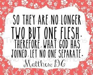 what bible scriptures talk about marriage