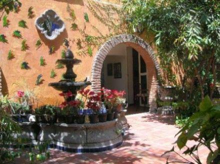 Estilo mexicano en decoraci n decorahoy mi casa - Como decorar mi jardin ...