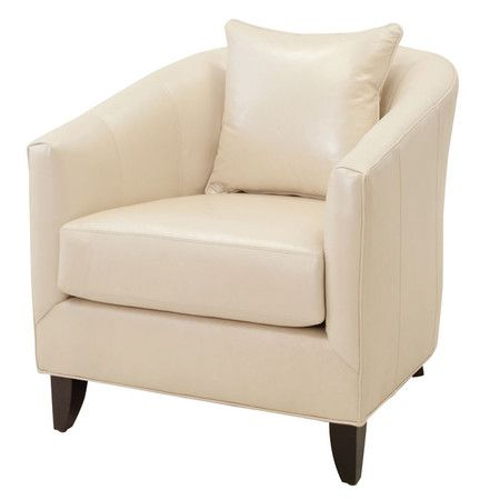 Upholstered Club Chair With Exposed Legs Made In The Usa I Love
