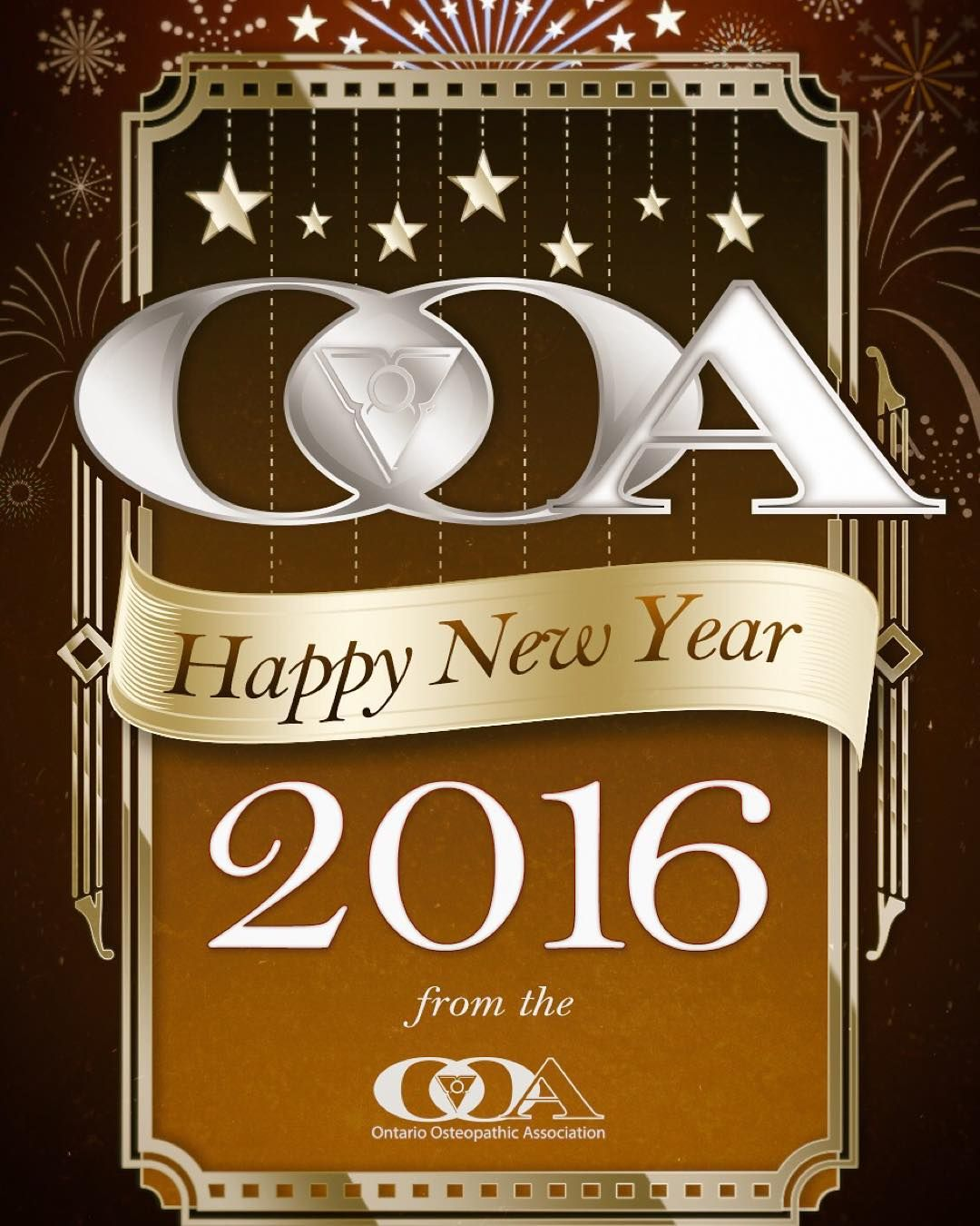 Happy new year from the ontario osteopathic association