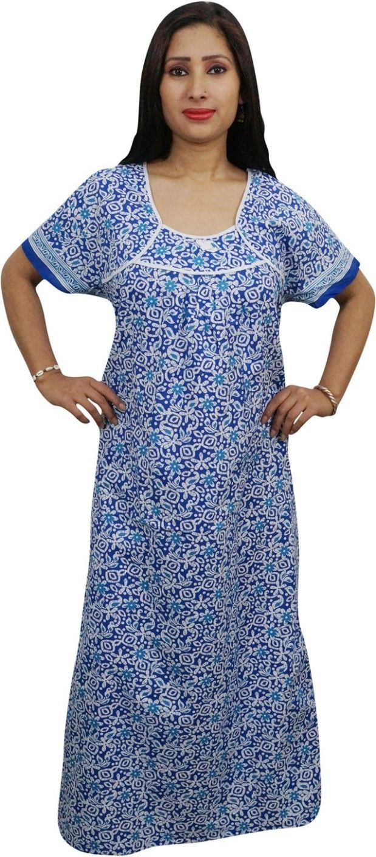 682c95c0e Indiatrendzs Women s Nighty - Buy Indiatrendzs Women s Nighty Online at  Best Prices in India