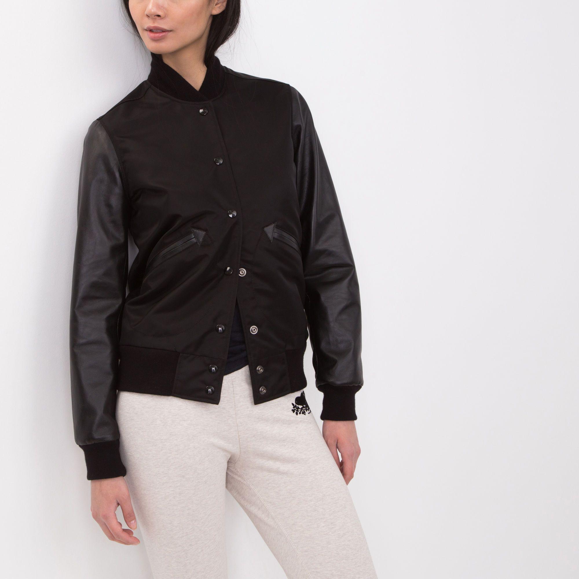 Look - How to sleeveless a wear varsity jacket video