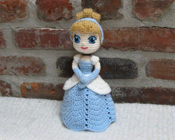 Crochet Cinderella Princess Toy Amigurumi Free Pattern | 456x570