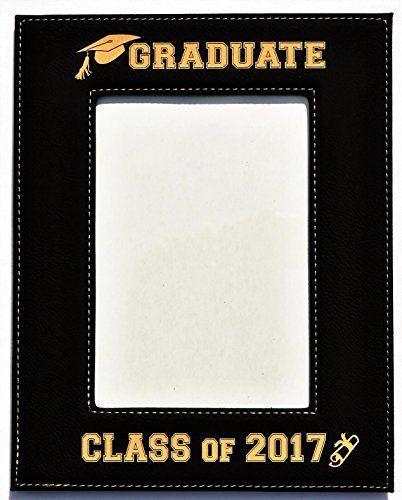 Gift For Graduate Graduation Engraved Leatherette Graduation Picture