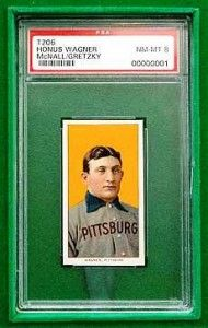 Famous Honus Wagner Baseball Card Once Owned By Hall Of Famer Wayne