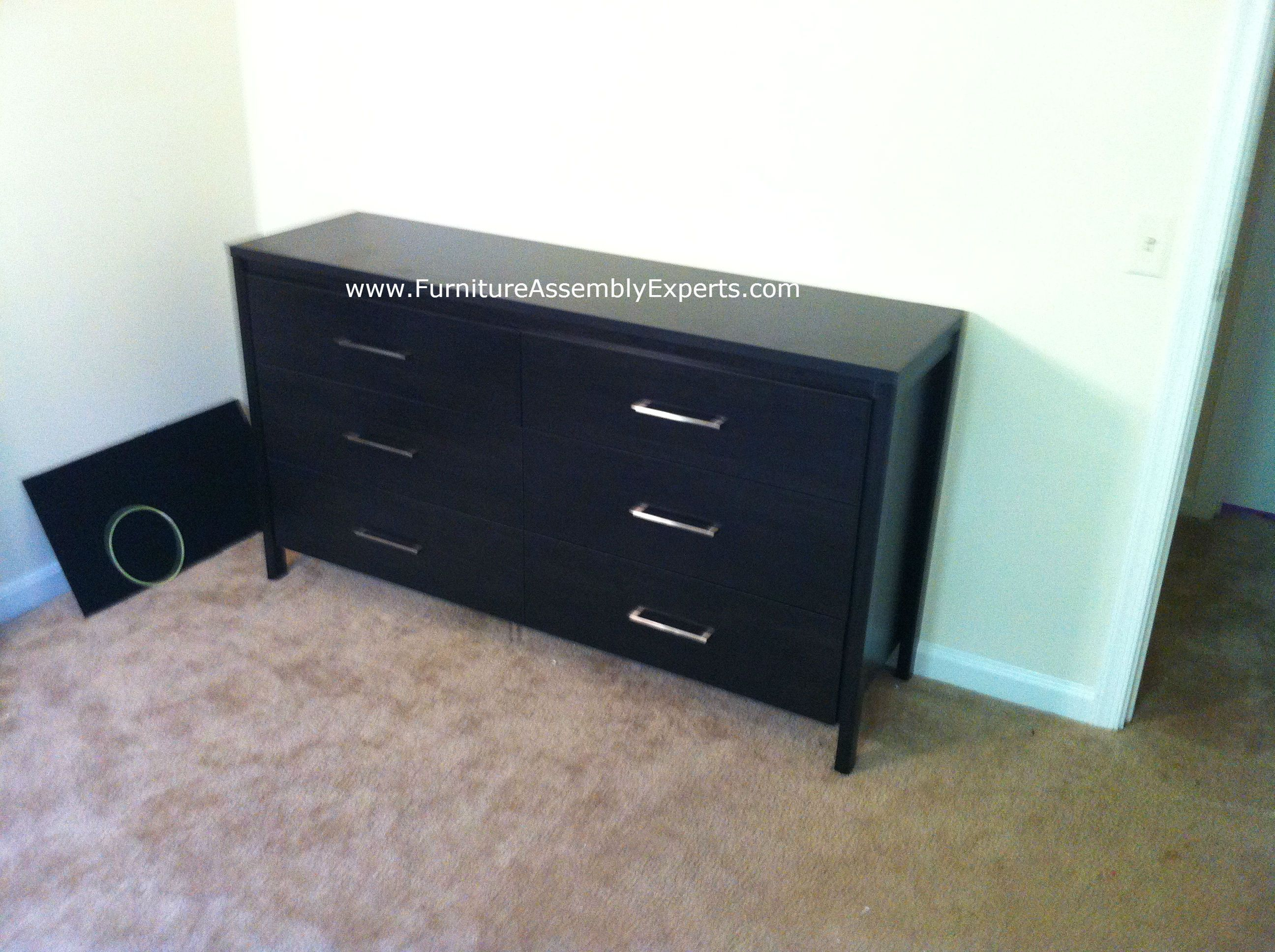 South Shore 6 Drawers Dresser Assembled In Baltimore Md By Furniture Assembly Experts Llc Ikea Furniture Assembly Furniture Assembly Furniture