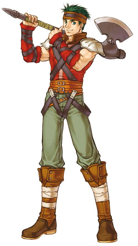 boyd fe path of radiance radiant dawn i like his character and