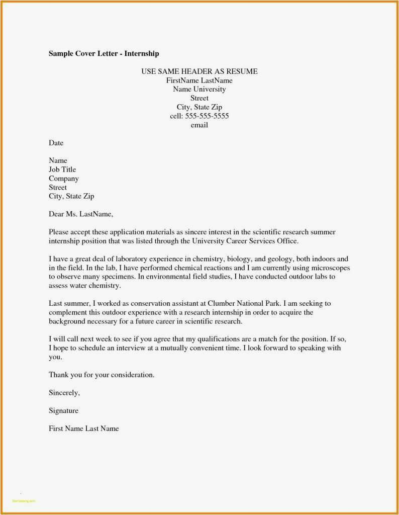 25 Cover Letter Header Cover Letter Examples For Job Cover