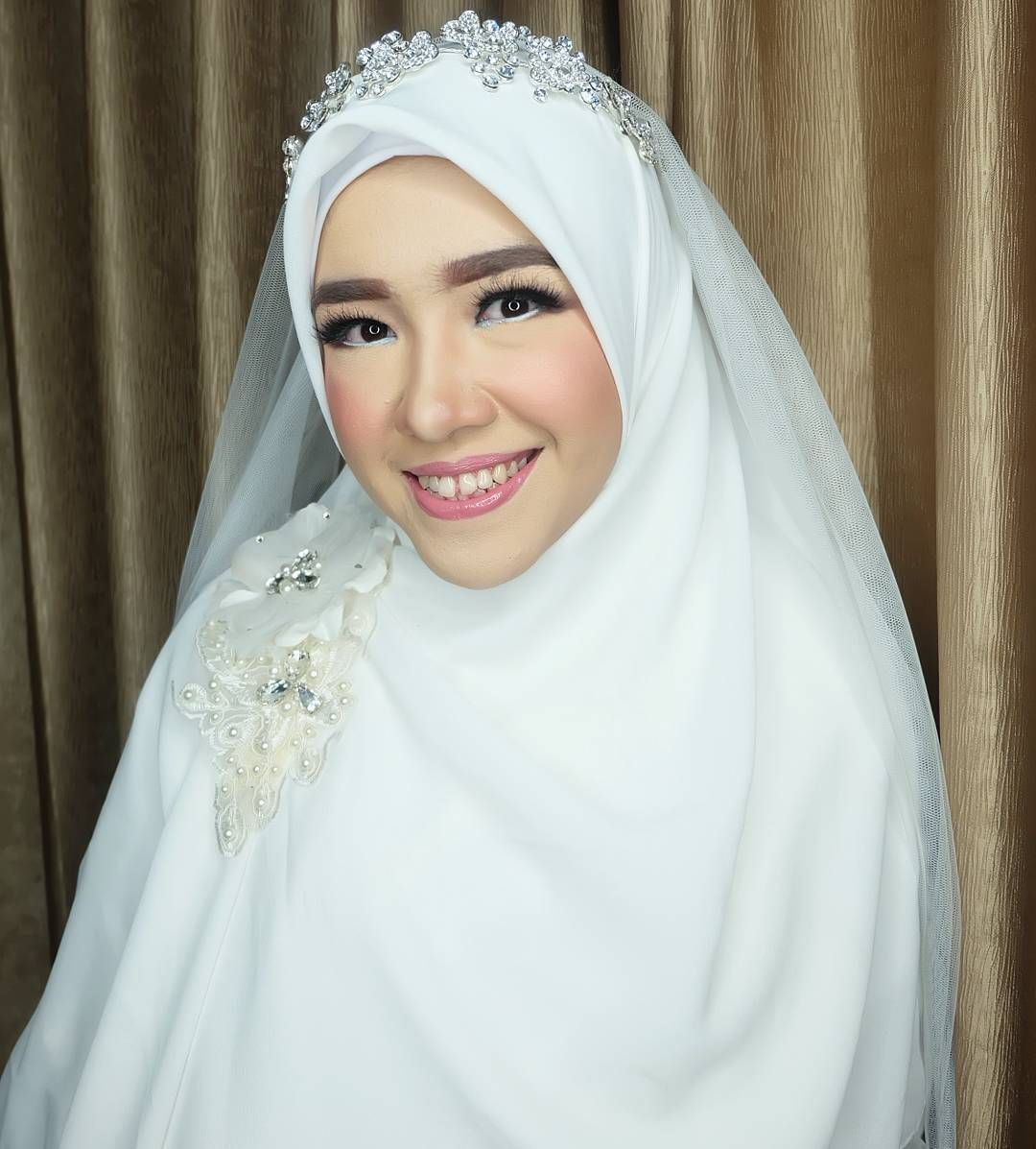 Akad Nikah Novadita Makeup And Hijab Syar I As Requested Wihtout