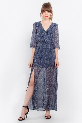 Take Me Somewhere New Maxi Dress LAVELIQ.