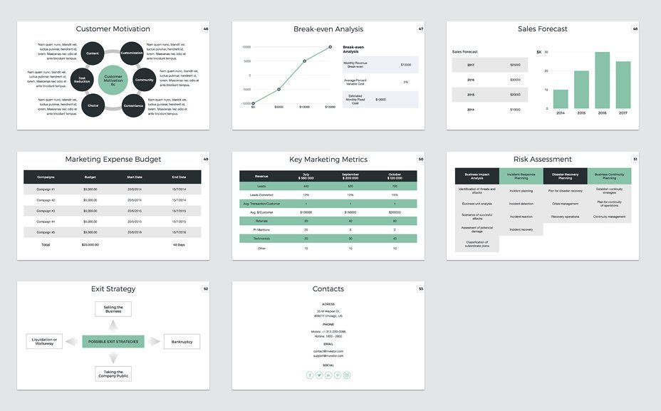 Marketing Plan PowerPoint Template by CreativeSlides on