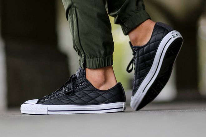 converse all star quilted