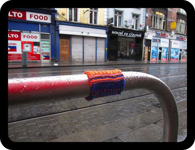Dublin yarnbomb!