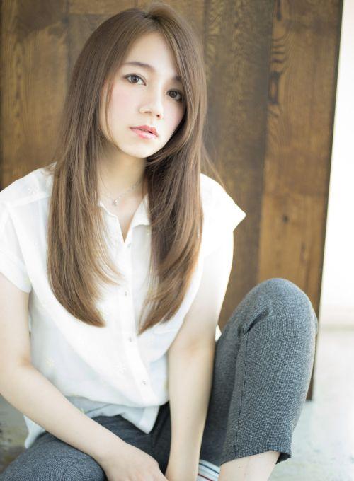 美容室 ヘアスタイル検索サイト ビューティーナビ シアーベージュロング Afloat Japan アジア風ヘアカット レディース パーマヘア ショートのヘアスタイル