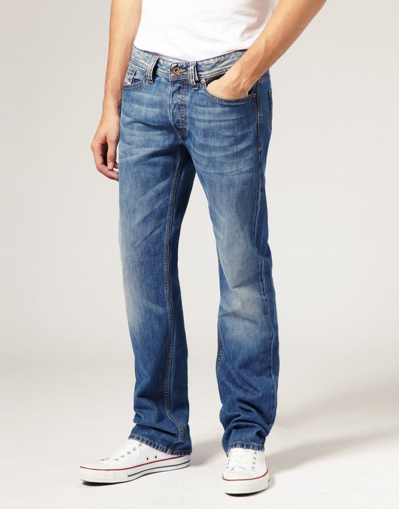88356dff Details about Mens Diesel Jeans 28 x 34 Viker 0073P Regular Straight ...