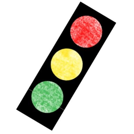 Traffic Light - The Mailbox | crafts | Pinterest
