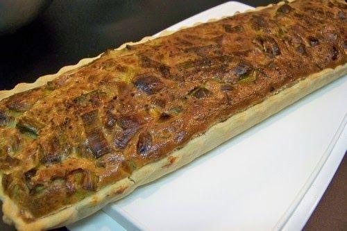 Cuisine en folie: Tarte aux poireaux, camembert et piment d'Espelett...