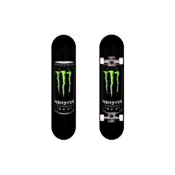 38e13f36d8a8a Amazon.com : Monster Energy CAN Rob dyrdek Skateboard Deck : Sports ...