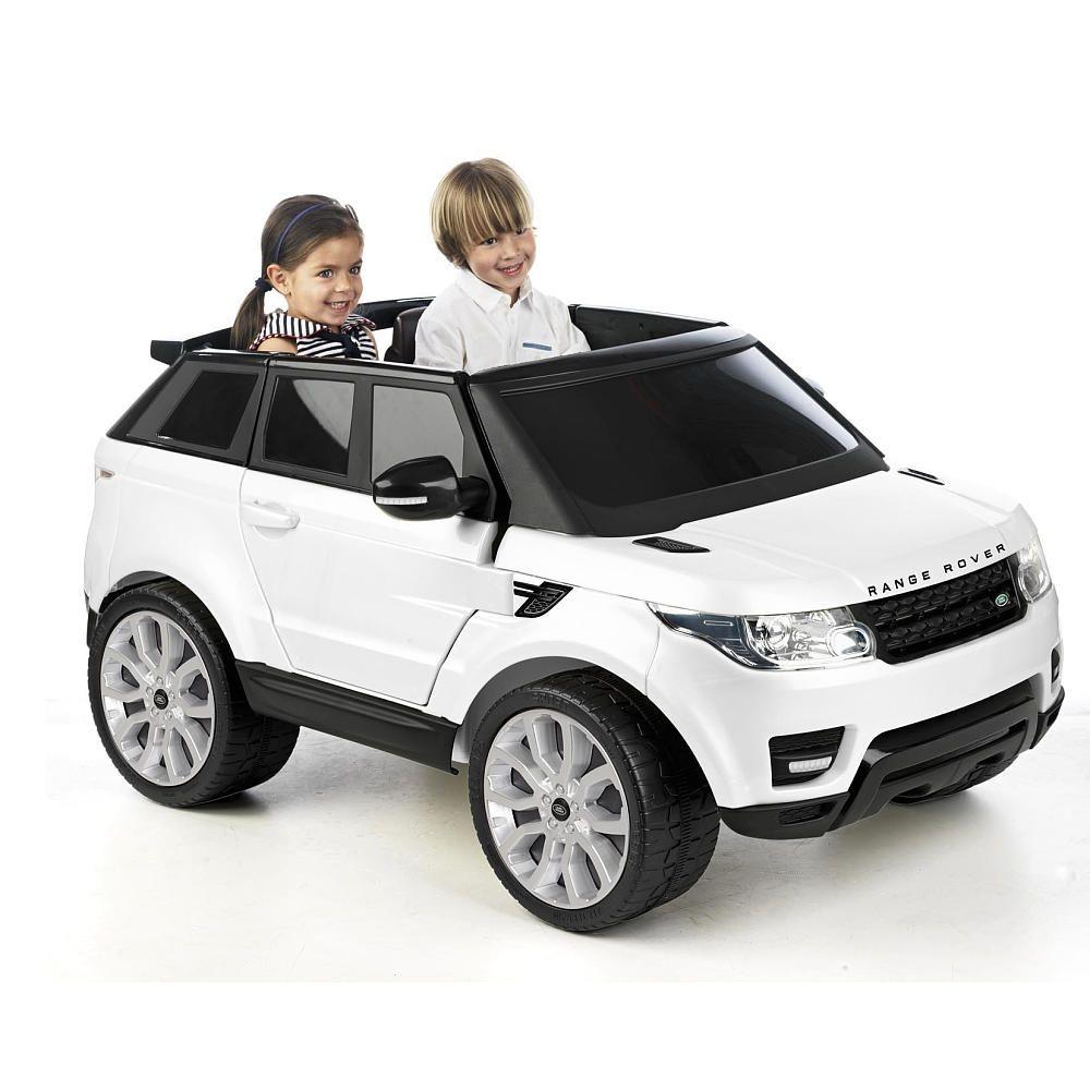 Avigo Range Rover Sport 12 Volt Powered Ride On - White - Toys R Us ...
