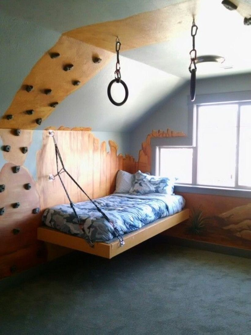 Diy Platform Bed Gives The Impression Of A Higher Bed 42